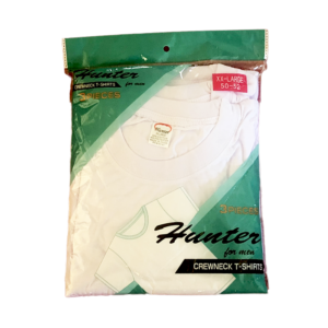 Men T-Shirt White 2XL, 3XL BY DOZEN