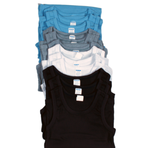 BOYS TANK TOP  (COLOR)BY DOZEN